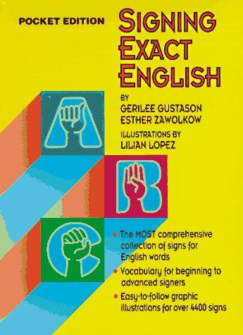 Signing Exact English 9780916708269