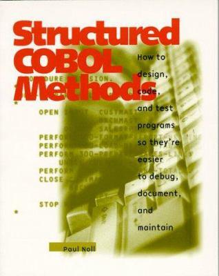 Structured COBOL Methods 1997 9780911625943