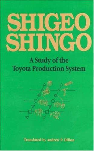 Study of the Toyota Production System: From an Industrial Engineering Viewpoint 9780915299171