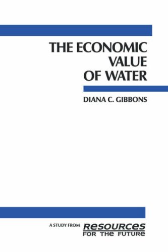 The Economic Value of Water 9780915707232