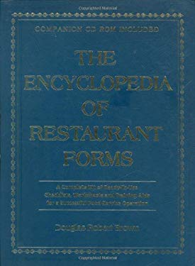 The Encyclopedia of Restaurant Forms: A Complete Kit of Ready-To-Use Checklists, Worksheets and Training AIDS for a Successful Food Service Operation 9780910627290