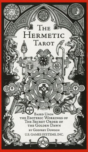 The Hermetic Tarot Deck 9780913866924