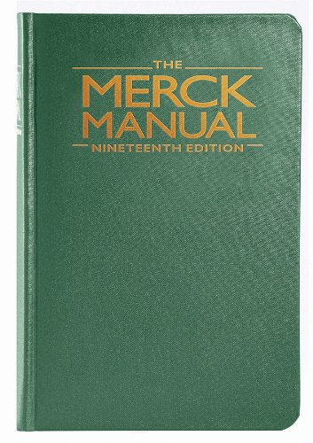 The Merck Manual of Diagnosis and Therapy 9780911910193