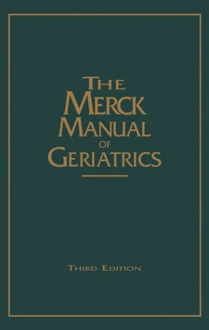 The Merck Manual of Geriatrics 9780911910889