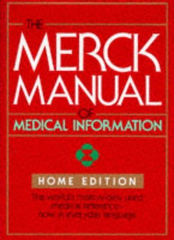 The Merck Manual of Medical Information: Home Edition 9780911910872