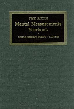 The Sixth Mental Measurements Yearbook 9780910674065