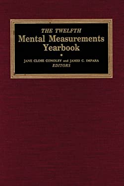 The Twelfth Mental Measurements Yearbook 9780910674409