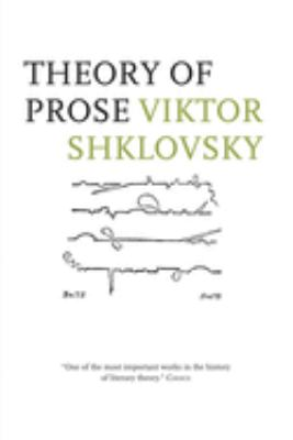 Theory of Prose 9780916583644