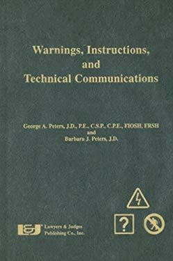 Warnings, Instructions, and Technical Communications 9780913875612