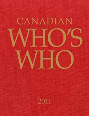 Canadian Who's Who 2011 9780921173274