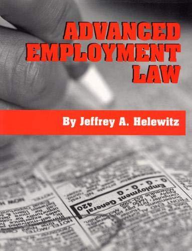 Advanced Employment Law 9780929563602