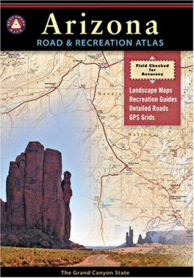 Arizona Road & Recreation Atlas 9780929591971