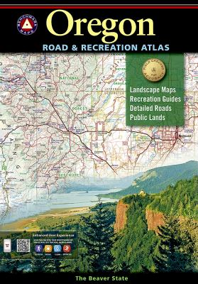 Benchmark Oregon Road & Recreation Atlas 9780929591629