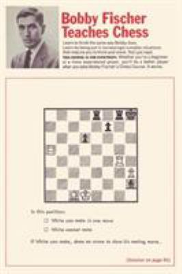 Bobby Fischer Teaches Chess 9780923891602