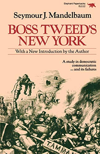 Boss Tweed's New York 9780929587202