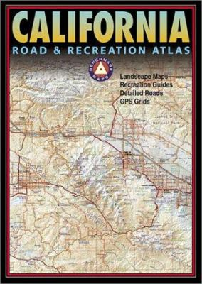 California Road & Recreation Atlas 9780929591803