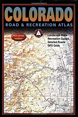 Benchmark Colorado Road & Recreation Atlas, 3rd Edition 9780929591940