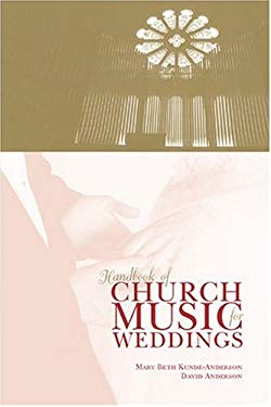 Handbook of Church Music for Weddings 9780929650449