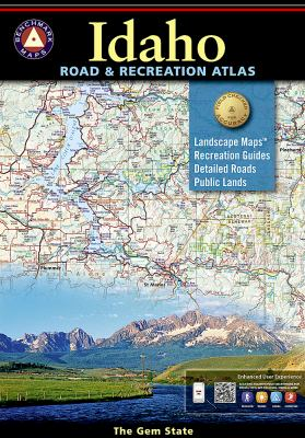Idaho Road & Recreation Atlas 9780929591063
