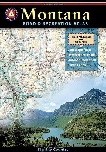 Montana Road & Recreation Atlas 9780929591667