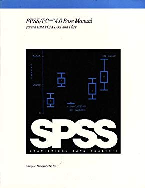 SPSS/PC+ 4.0 Base Manual for the IBM PC/XT/AT and PS/2 (9780923967116) photo