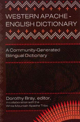 Western Apache-English Dictionary 9780927534796
