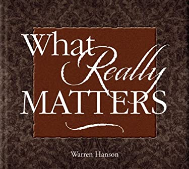 What Really Matters 9780931674785