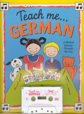 Teach Me German [With Coloring Including Song Lyrics] 9780934633079