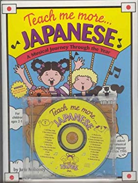 Teach Me More Japanese [With 20-Page Book] 9780934633185