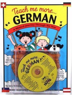 Teach Me More German [With 20-Page Book] 9780934633215