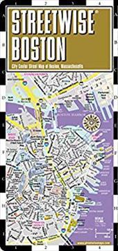 Streetwise Boston Map - Laminated City Street Map of Boston, Massachusetts: Folding Pocket Size Travel Map 4192872