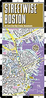 Streetwise Boston Map - Laminated City Street Map of Boston, Massachusetts: Folding Pocket Size Travel Map 9780935039085