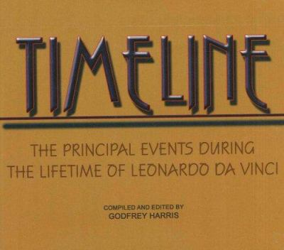 Timeline: The Principal Events During the Lifetime of Leonardo Da Vinci 9780935047622