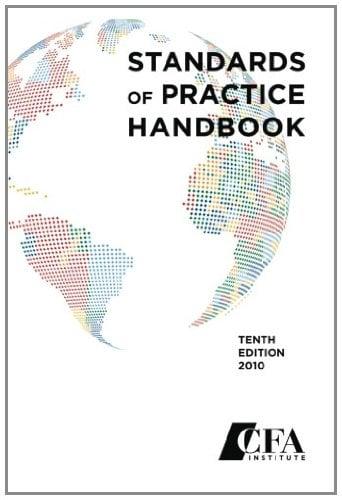 Standards of Practice Handbook 9780938367222