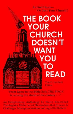 The Book Your Church Doesn't Want You to Read 9780939040155