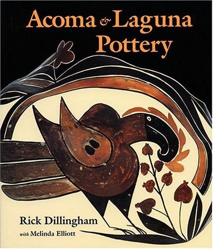 Acoma & Laguna Pottery 9780933452329