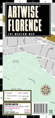 Artwise Florence Museum Map - Laminated Museum Map of Florence, Italy: Folding Pocket Size Travel Map 9780935039375