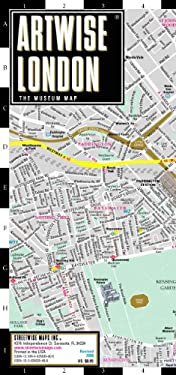 Artwise London Museum Map - Laminated Museum Map of London, England: Folding Pocket Size Travel Map 9780935039405