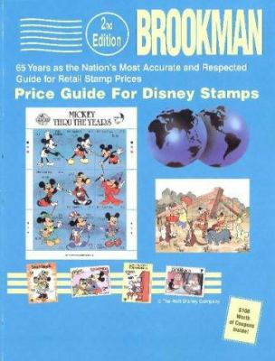 Brookman Price Guide for Disney Stamps 9780936937458