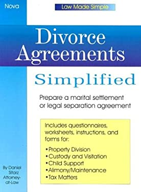 Divorce Agreements Simplied 9780935755879