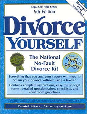 Divorce Yourself, 5th Edition: The National No-Fault Divorce Kit 9780935755947