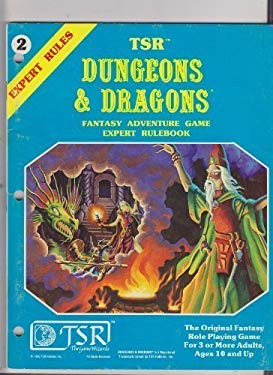 Dungeons & Dragons: Fantasy Adventure Game- Expert Rulebook