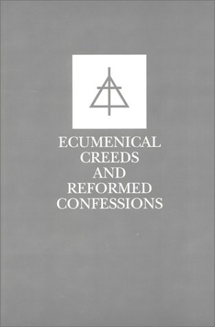 Ecumenical Creeds & Confessions 9780930265342