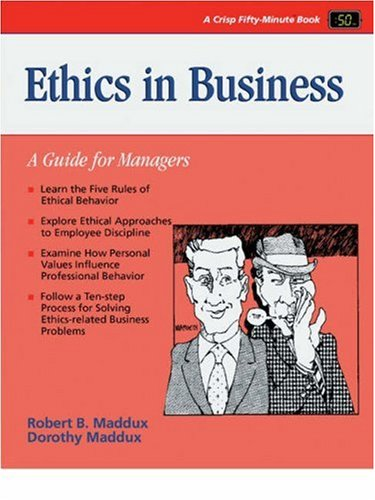 Ethics in Business 9780931961694