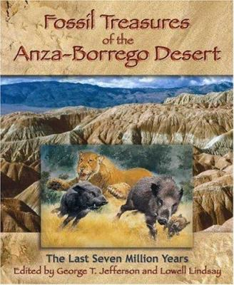 Fossil Treasures of the Anza-Borrego Desert 9780932653505