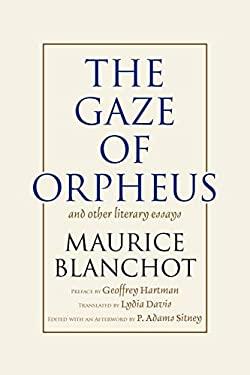 Gaze of Orpheus: And Other Literary Essays 9780930794385