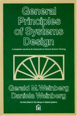 General Principles of Systems Design 9780932633071