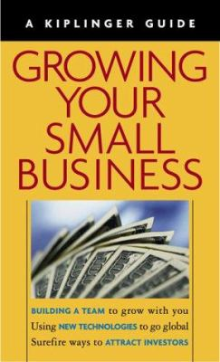 Growing Your Small Business [With Book] 9780938721819