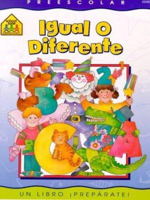 Igual O Diferente: Preescolar 9780938256809