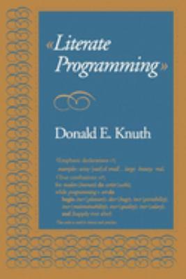 Literate Programming 9780937073803